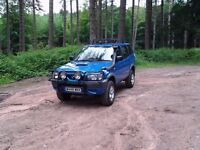 Nissan Terrano 4 by 4 4X4, Tow Bar, Lights Many More