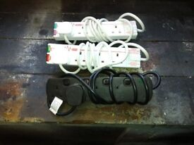 3 Extension Leads