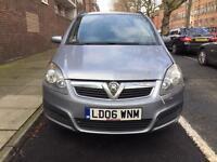 Vauxhall Zafira bargain quick sale cheap damaged