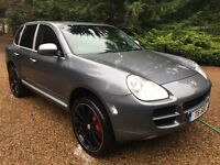 "Porsche Cayenne S 4.5 litre V8 4x4 with Full Service History, High Spec With 22"" Wheels & Turbo body"