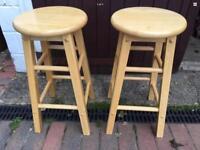 Kitchen stools bar wooden