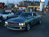 1977 mercedes 350 slc very clean runs very good 160000km