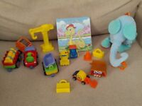 Baby / Toddler toys(train, trucks,book etc)