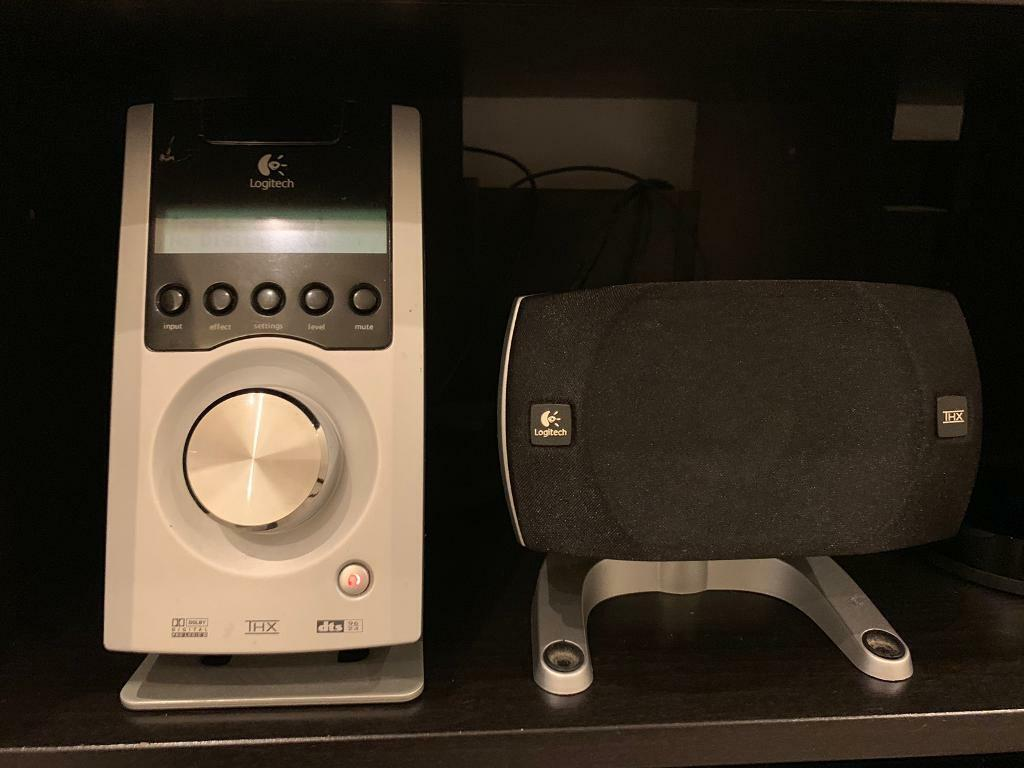 Logitech Z5500 5 1 Surround Sound Speakers DTS Dolby digital THX super  powerful subwoofer bass | in Redbridge, London | Gumtree
