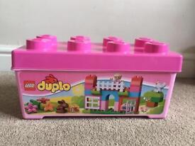 Lego duplo pink box of fun