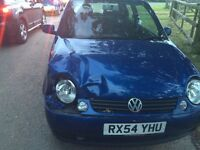 Volkswagen Lupo for sale (written off due to damages in photo, all other parts in PERFECT condition.