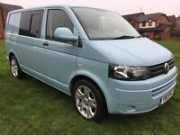 Vw t5.1 2010 transporter 2.0tdi 102bhp swb fully serviced camper campervan