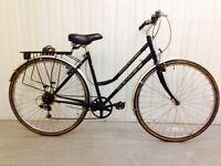 Full spec Dawes Hybrid Bike 18 speed alloy frame
