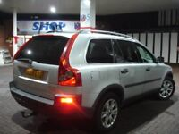 !!! VOLVO XC90 2.4 D5 SE G/T AUTOMATIC DIESEL !!! 2004 PLATE 7 SEATER 4X4 JEEP LEATHERS FULL SERVICE
