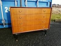 Superb retro mid century G Plan E Gomme chest of drawers from the Librenza range for sale  Fife