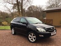 Lexus RX300, mot end March, good condition, lovely drive, black with black leather heated seats