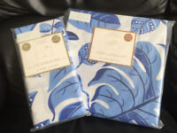 ZARA HOME DUVET COVER AND 2 PILLOWCASES - 150 COTTON THREAD COUNT - NEW