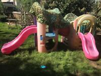 Little Tikes Outdoor Activity Centre and Slides