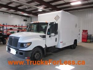 2012 International TERRASTAR, MOBILE SHOP VAN + AIR COMPRESSOR!!
