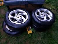 Toyota alloy wheels Celica, Avensis, Carina 5 x 100cone