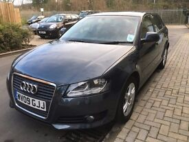 AUDI A3 2.0 TDI 140 BHP GREY MOT AND FSH EXCELLENT CONDITION