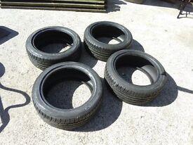 4x 94W Falken ZE914 225/45R17 tyres