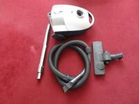 small white hoover in working order and complete