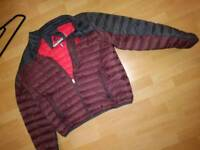 Mens brand new gerry coat.down filled jacket xl