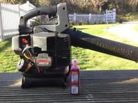 Kawasaki KRH300A handheld leaf blower, free stihl oil