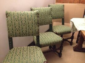 Furniture from holiday cottage in storage