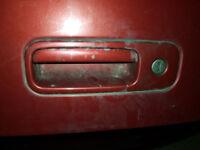 VW golf mk4 boot handle