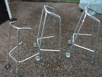 CHOICE OF THREE LIGHTWEIGHT ALUMINIUM ADJUSTABLE WALKING FRAMES