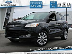 2013 Ford Escape SEL 2.0L**AWD*CUIR*NAVI*BLUETOOTH**