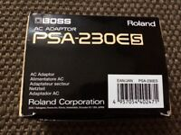 BOSS Roland AC Adaptor PSA-230Es BOXED