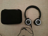 AKG K451 High-Performance Foldable Cushioned Headphones with In-Line Volume Remote and Microphone
