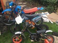Motorbike/Pitbike/midi bike/go cart frame