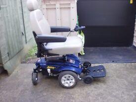 jazzy electric wheelchair / euro ultralite 480[ 4 wheeler]