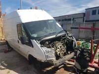 Ford transit 2011 2.4 rwd for breaking only
