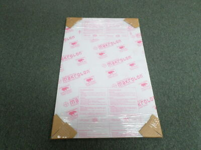 Lot Of 3 Sheffield Plastics Makrolon 30 X 19 X 0.220 Polycarbonate Sheets
