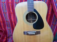 Late 70's Yamaha Jumbo Guitar FG-160-1 in good condition.