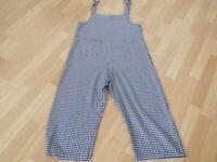 WENDY TRENDY ITALY Designer Ladies Dungarees. Made in Italy. Size : S