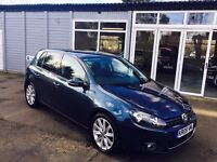 VW GOLF 2.0 TDi GT - Leather, BT hand free, FSH, Cam belt Changed in August 2016, 3 owners