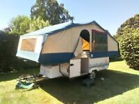 Conway Cruiser folding camper ideal for familys. -- NOW SOLD