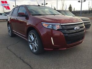 2014 Ford Edge SPORT AWD LEATHER NAV 57600KM