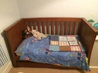 Mamas and papas cot/daybed
