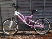 "kids Mountain Bike - age 6 to 9 - 20"" wheel"