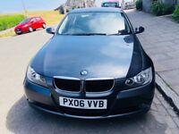 Stunning 2006 BMW 320D ES 2L.Diesel.. MOT. March 2019 .. FSH...Aux.. 4 new Tyres £2450
