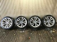 "Genuine 20"" BMW X5 M Sport 469 M Staggered Alloy Wheels"