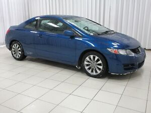 2010 Honda Civic COUPE EX-L WITH LEATHER AND ALLOYS