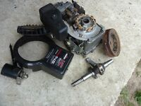 Briggs & Stratton 14.5HP Engine for spares or repair. Been run low on oil