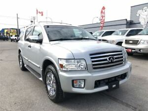 2005 Infiniti QX56 Platinum 4WD Rear Dvd Navi 5.6L V8 Only 106,