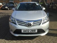2012 Toyota Avensis 2.0 Diesel - PCO Ready, Uber Ready, 1 owner, 87k mileage