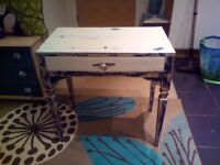 Gorgeous shabby chic side table
