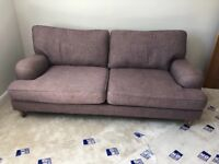 Gorgrous Marks and Spencer 2 piece suite for sale - one 3/4 seater and one lovers chair