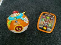 Vtech Crawl Ball & My First Tablet